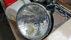 New Genuine Lucas Headlamp 105E Anglia Sealed Beam Unit